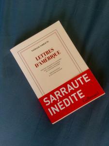 Lettres d'Amérique - Nathalie Sarraute